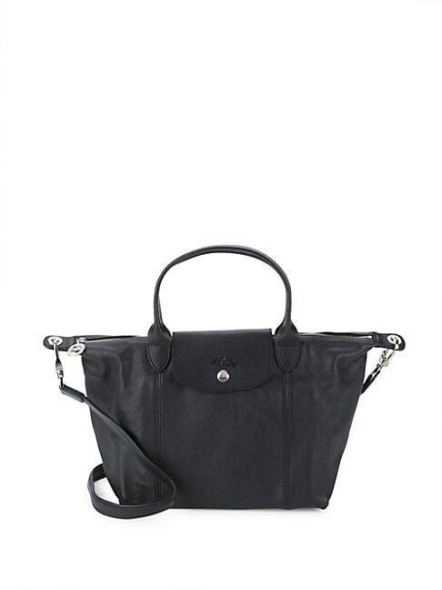 Le Pliage Leather Handbag