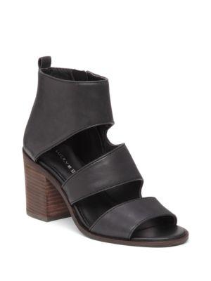 Lucky Brand  Abott Leather Strap Sandals
