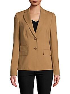 Basler - Button-Front Blazer