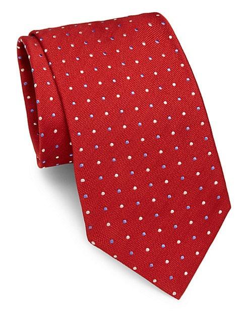 Dots Pattern Silk Tie