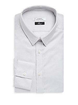 Fine Stripe Dress Shirt
