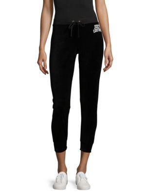 Juicy Couture Black Label  Logo-Print Cropped Pants