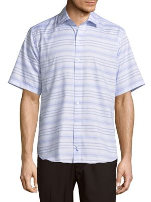 Tailorbyrd  Striped Basswood Shirt