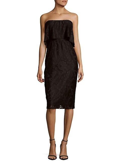 Driggs Straight-Across Popover Dress
