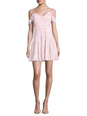 Tate Cold Shoulder Dress, Pink