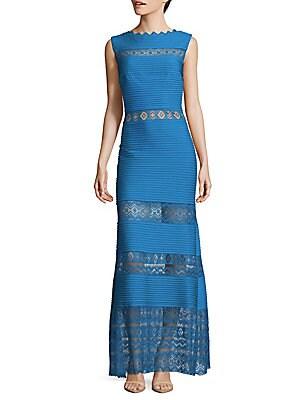 Pintuck Gown