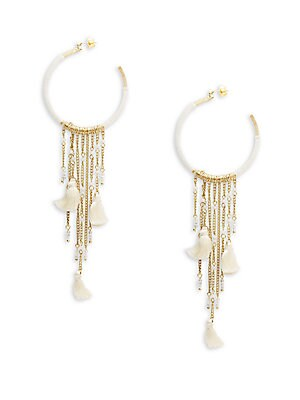 Tasseled Chandelier Earrings