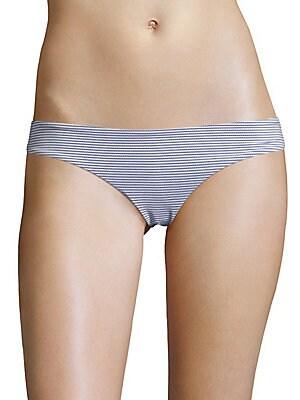 Lily Striped Bikini Bottom