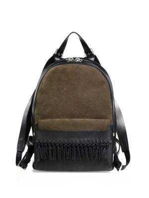 3.1 Phillip Lim Leathers Bianca Fringed Leather Mini Backpack