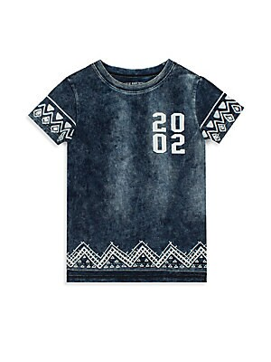 Little Boy's Batik Tee