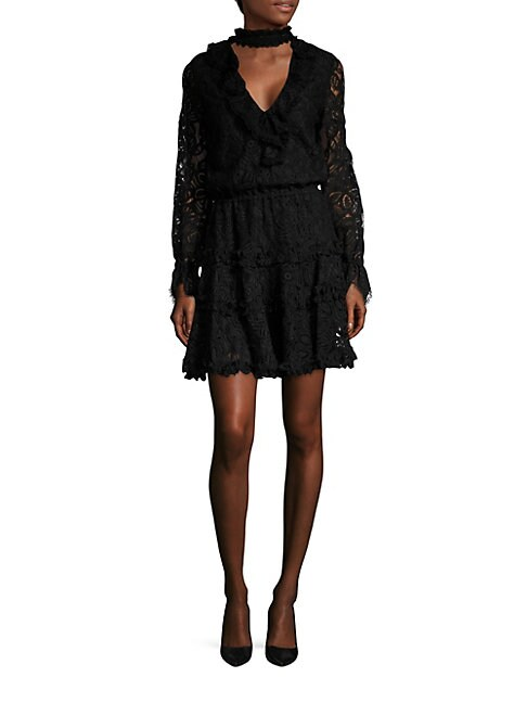 Catalina Choker Lace Dress