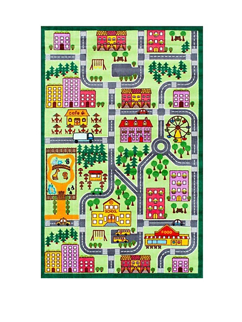 Kinderloom City Neighborhood Printed Rug