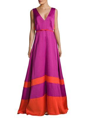 Zac Posen Dresses RAZZMA WOVEN DRESS