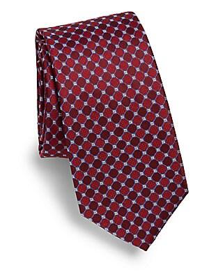 Two-Tone Circle Tie