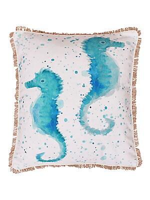Syrena Seahorse Pillow