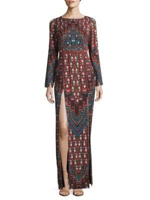 Mara Hoffman Rug Printed Maxi Dress