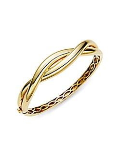 Roberto Coin - 18K Yellow Gold Knot Bangle Bracelet