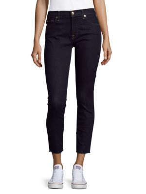 7 For All Mankind  Ankle Gwenevere High-Rise Jeans