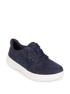 Fitflop  Sporty-Pop Leather Sneakers