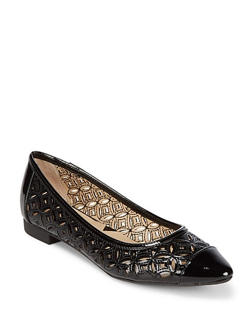 Adrienne Vittadini Point Toe Flats