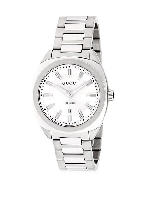 GUCCI | Stainless Steel Analog Bracelet Watch | Goxip