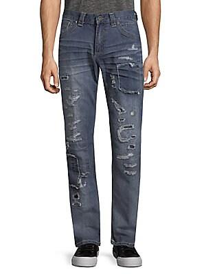 Gage Fleur Rosemund Rip Jeans