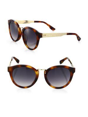 Jimmy Choo Pepy 50MM Round Sunglasses