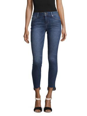 Joe's Jeans  Faded Skinny Ankle Jeans