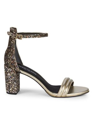 Kenneth Cole Lex Metallic Leather Sandals