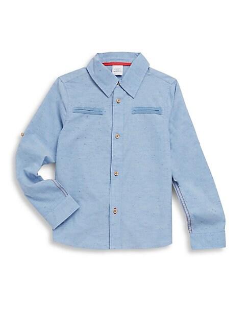 Little Boy's William Collared Cotton Shirt