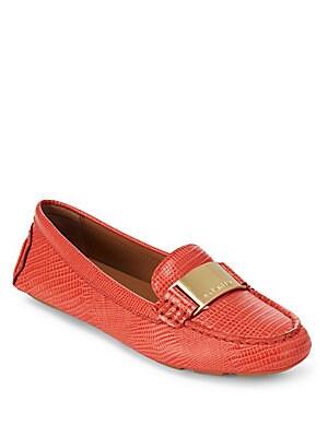 Lisette Leather Flats