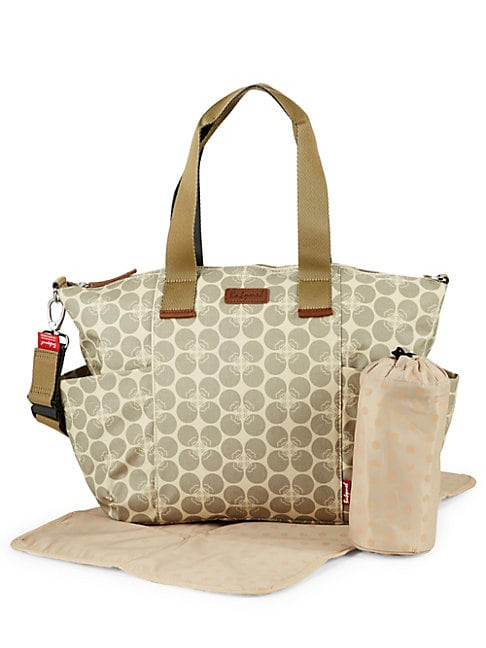 Evie Floral Canvas Handbag