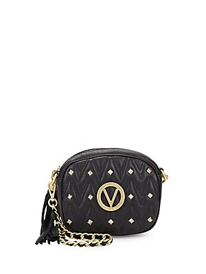 Isabele Leather Crossbody Bag by Valentino By Mario Valentino