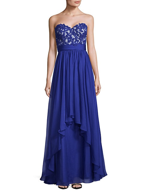 Elegant Floor-Length Gown