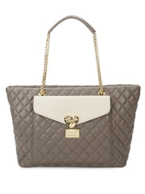 Love Moschino  Quilted Tote Bag