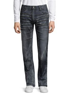 Robin's Jean  Straight Leg Cotton Jeans