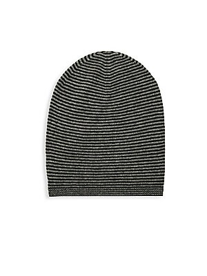 9e7a6d92ca8 Saks Fifth Avenue - Striped Cashmere Beanie - saksoff5th.com