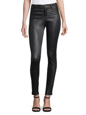 Alice And Olivia  Angie Leather Pants