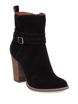 Lucky Brand  LATONYA SUEDE ANKLE BOOTS