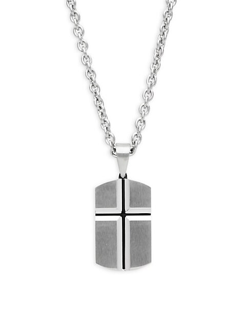 CHISEL | Cross Pendant Necklace | Goxip