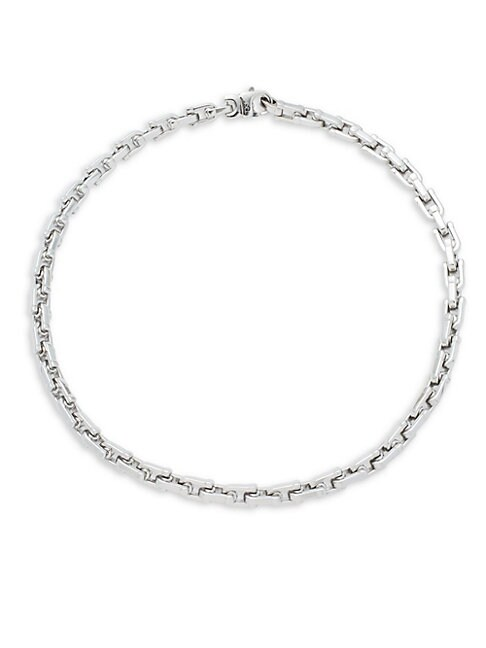 CHISEL | Stainless Steel Chain Necklace | Goxip