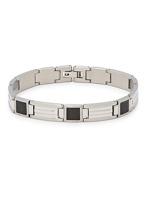 CHISEL | Stainless Steel Polished Bracelet | Goxip