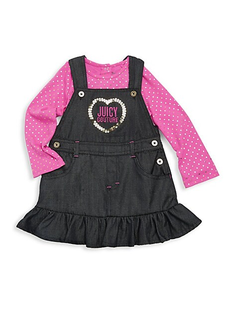 Baby's Two-Piece Cotton Jumper & Top Set