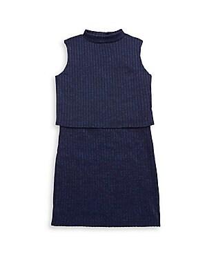 Girl's Overlay Dress