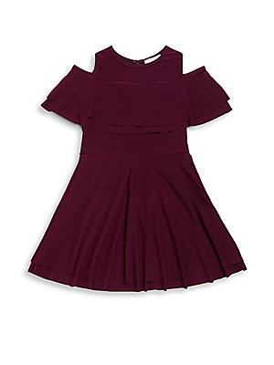 Girl's Crewneck Dress