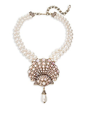 Pink Mother-of-Pearl Necklace