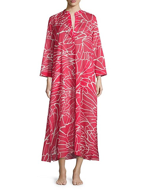 Abstract Butterfly Mandarin Sleepshirt