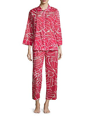 Abstract Butterfly Pajama Set