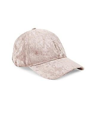 Crushed Velvet Baseball Cap