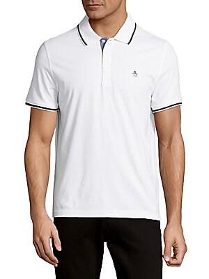 Cotton Short-Sleeve Polo